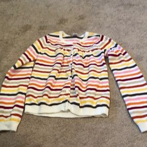 Cute striped Gymboree cardigan.